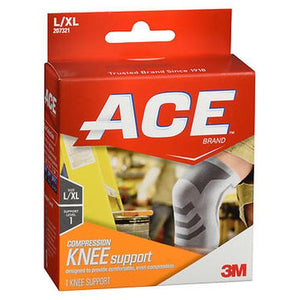 Ace Compression Knee Support Large/Xtra Large 1 Each by 3M (4754236047445)