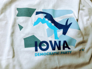 Iowa Democrats - Kicking ® Donkey - Youth T-Shirt