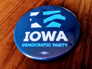 Iowa Democrats - Signature Logo Button