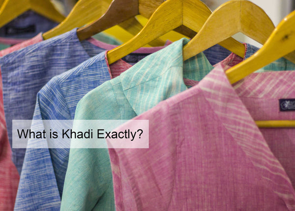 What is Khadi? What is the difference between Khadi and handloom and linen?