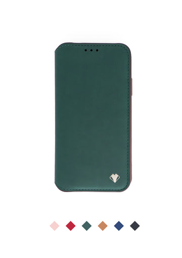 Smart Folio Phone Case - Forest Green
