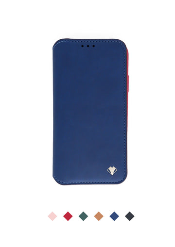 Smart Folio Phone Case - Navy Blue