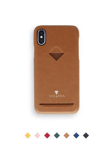 Card Slot Back Shell - Brown