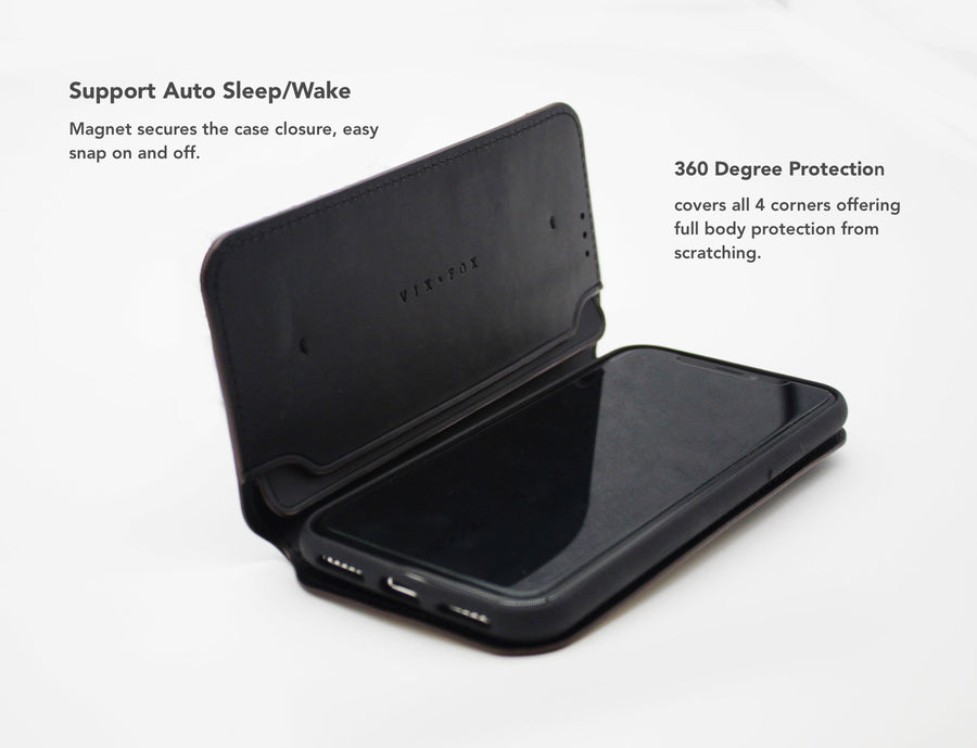 Smart Folio Phone Case - Classic Black