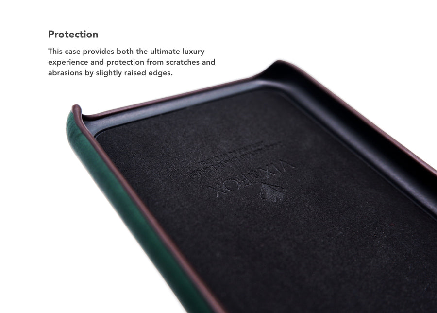 Card Slot Back Shell -  Forest Green