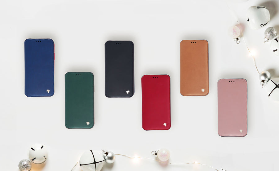 Smart Folio Phone Case - Ruby Red
