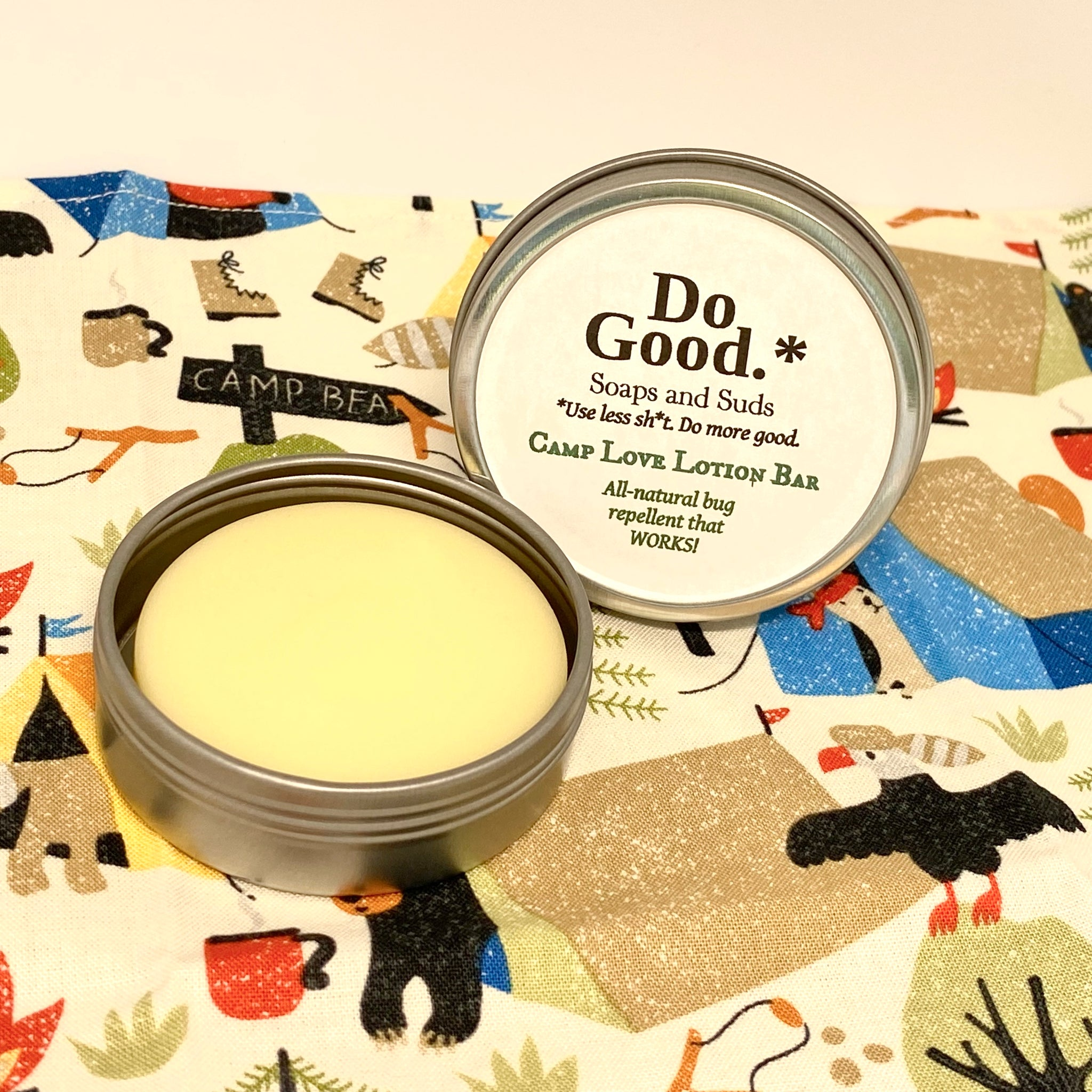 Camp Love Lotion Bar