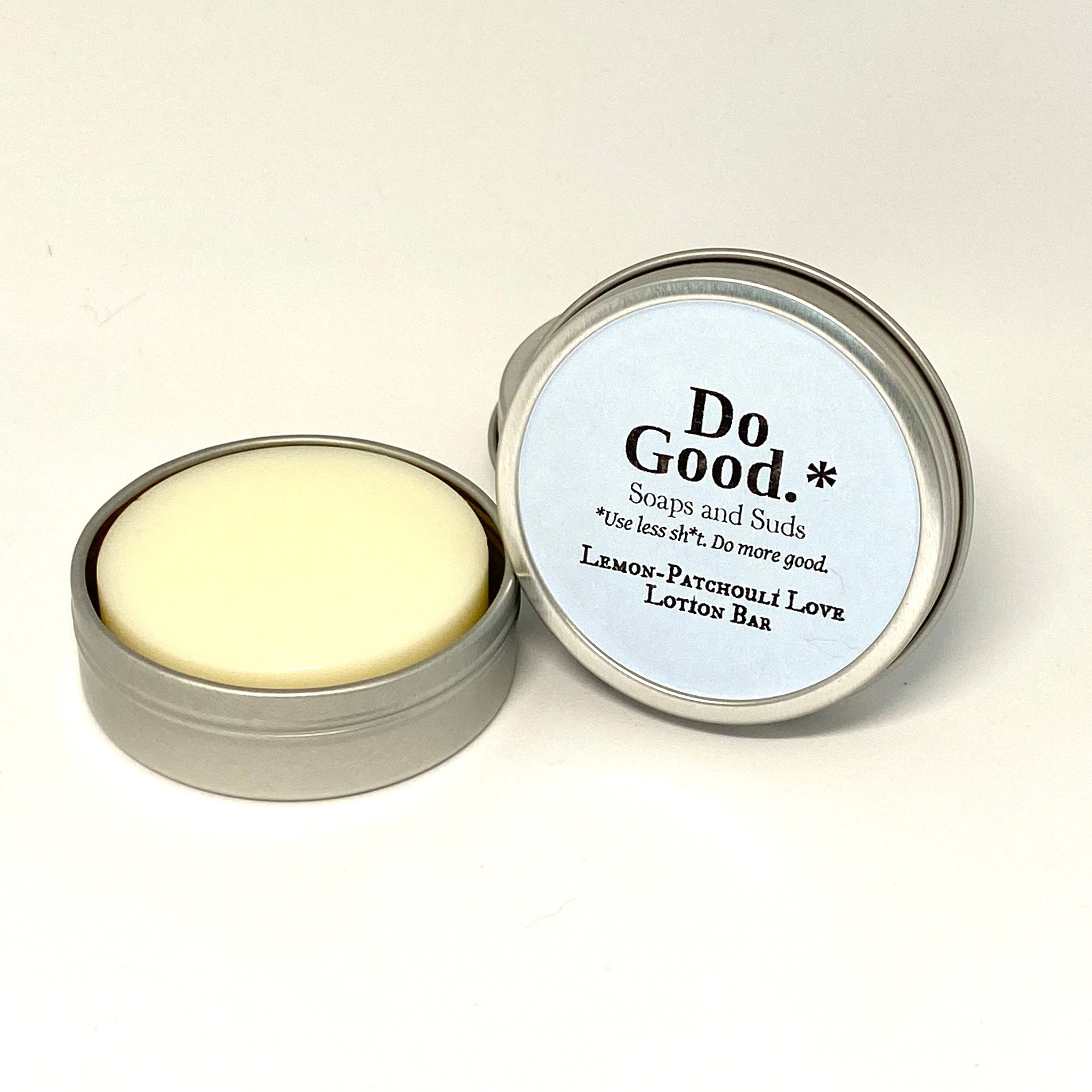 Lemon-Patchouli Love Lotion Bar