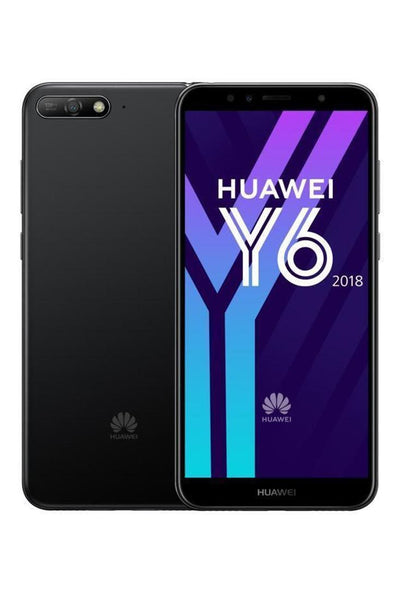"HUAWEI Y6 2018 TIM 5.7"" 16GB/2GB Black-Blu"