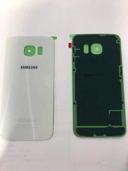 Back-Cover Samsung S6 Edge G925 **White-Gold-Black**