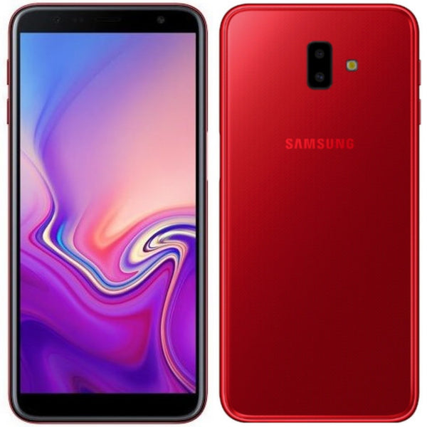Samsung Galaxy J6 Plus 32GB/3GB Ram 4G LTE **Black-Silver-Red**