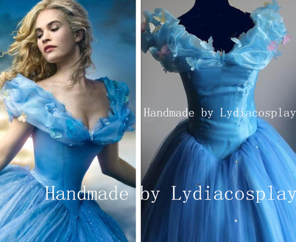 Princess Cinderella Dress for Adults - Cinderella 2015 Costume for Women
