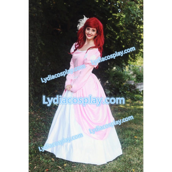 Ariel Pink Dress Costume Ariel Princess Dress Any Plus Size