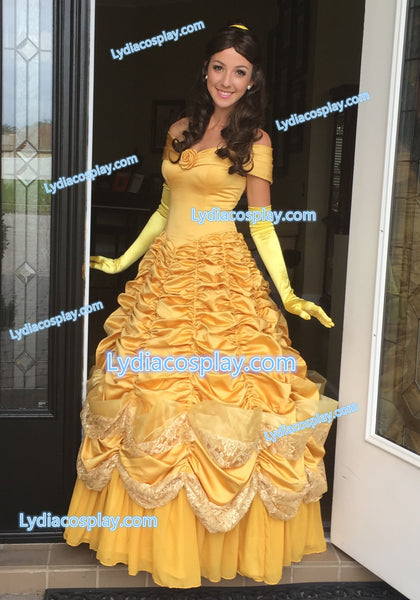 Belle Dress Belle Costume inspired Beauty and the Beast
