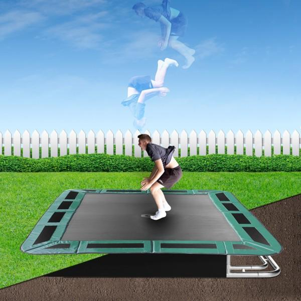 Capital In-ground Trampoline designed for home use