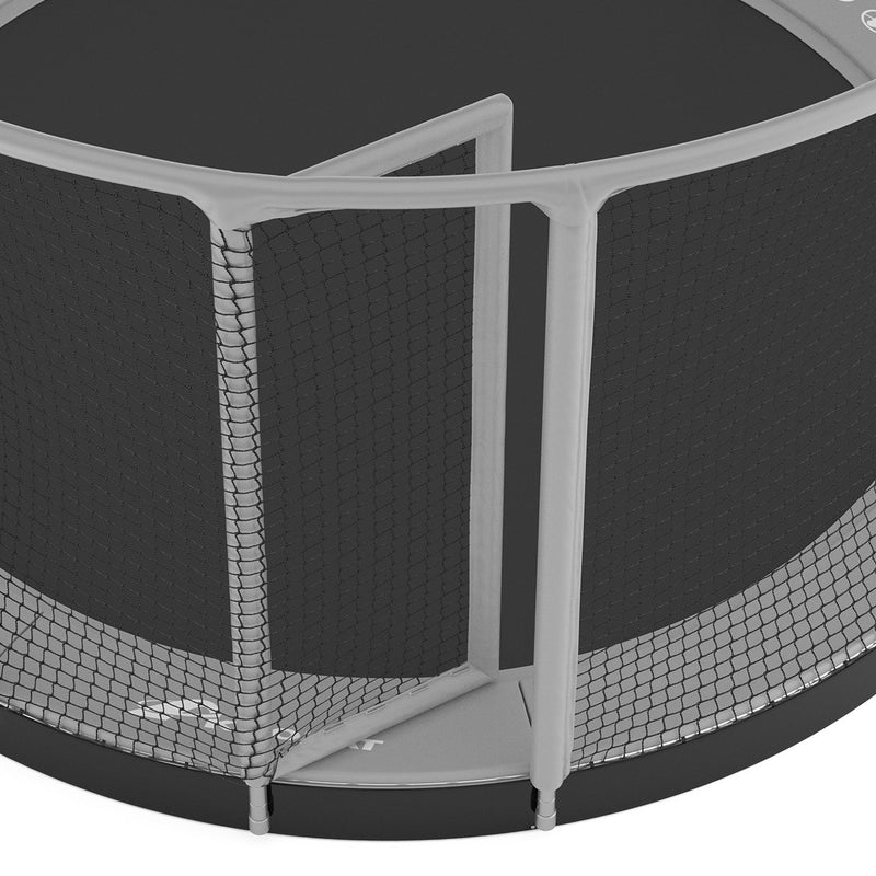 In-ground trampoline for schools and commercial use