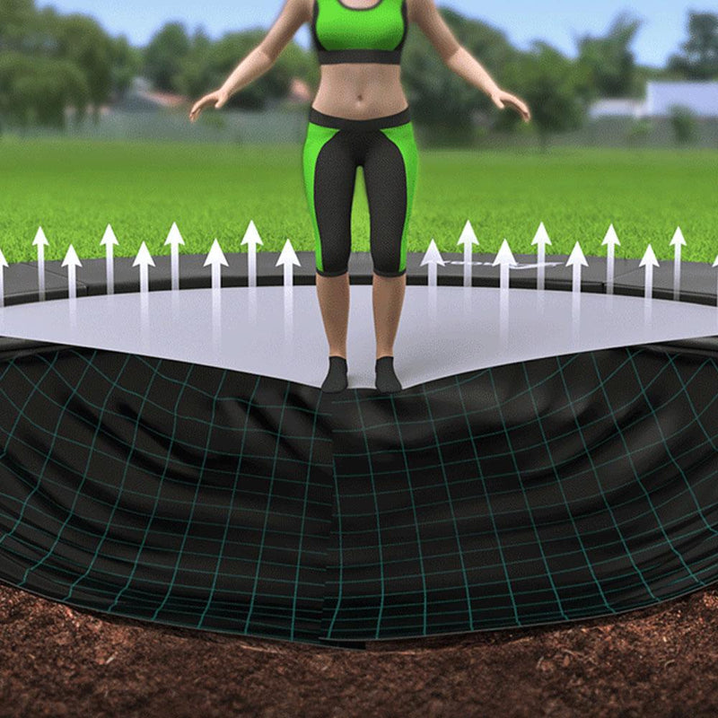 Primus Premium Rectangle Commercial In-ground Trampoline