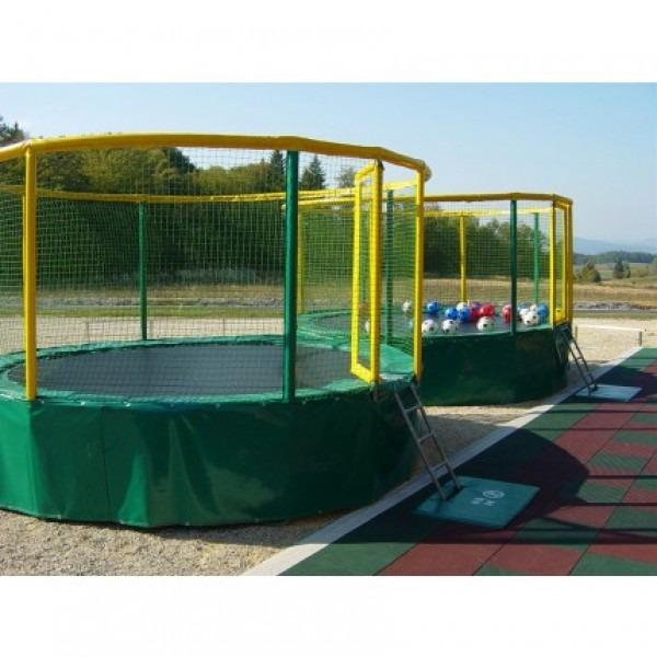 Akrobat Gallus Trampoline - perfect for schools and family attractions