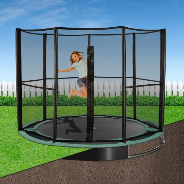 Capital In-ground Trampoline Full Enclosure