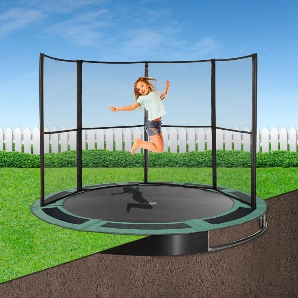 Capital In-ground Trampoline for domestic use - Round