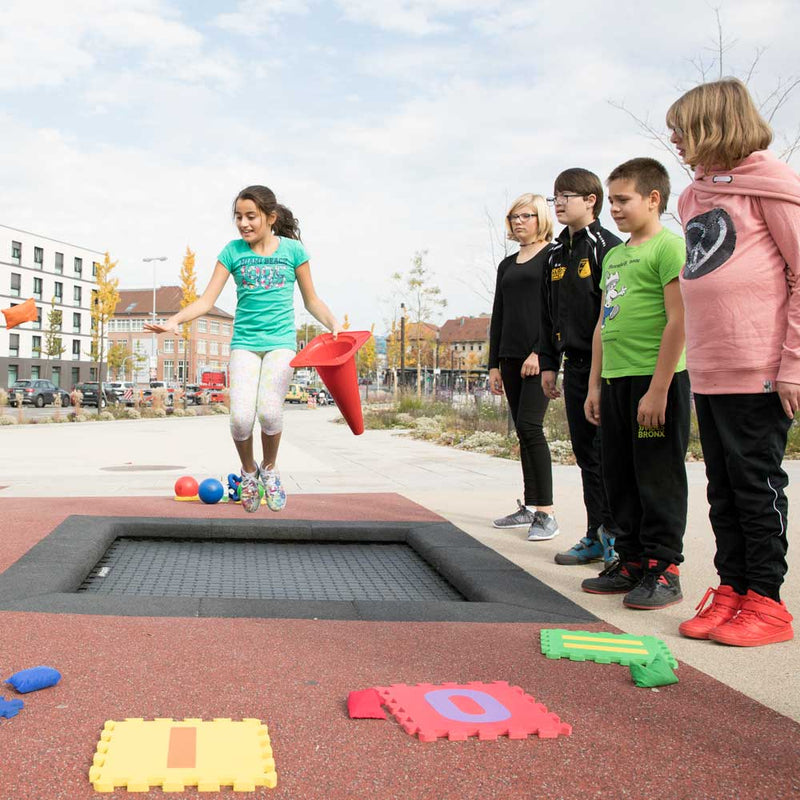 Eurotramp Commercial In-ground Trampoline Track