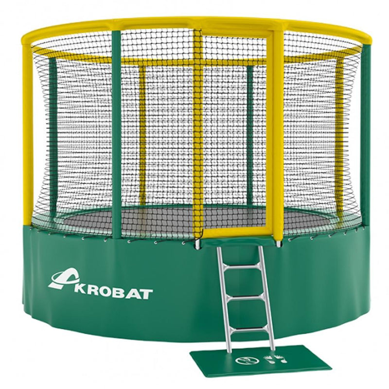 Commercial spec above ground trampoline