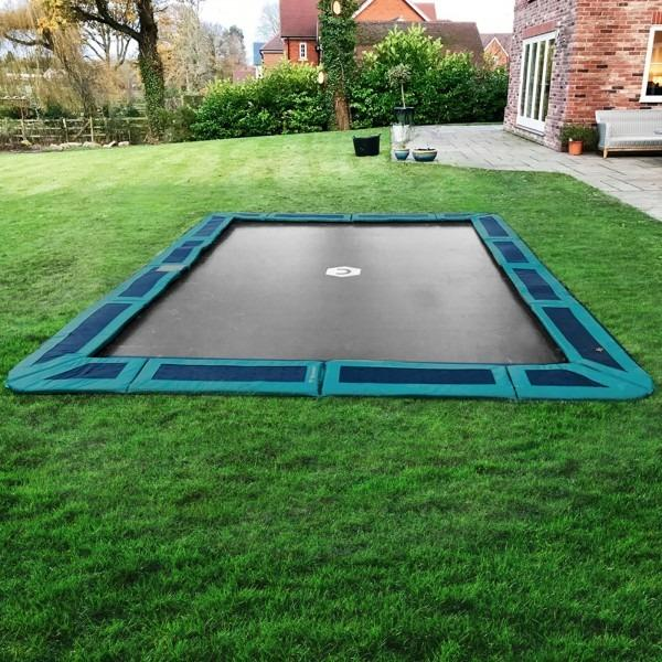 Capital In-ground Trampoline for domestic use - Rectangular