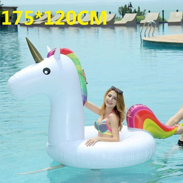 Swimming Rings Sports & Entertainment 120*90cm Giant Blue Toucan Swimming Ring 2018 Summer Inflatable Pool Float For Adult Children Water Party Toys Air Mattress Boia
