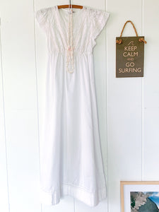 Eyelet Nighty Gown