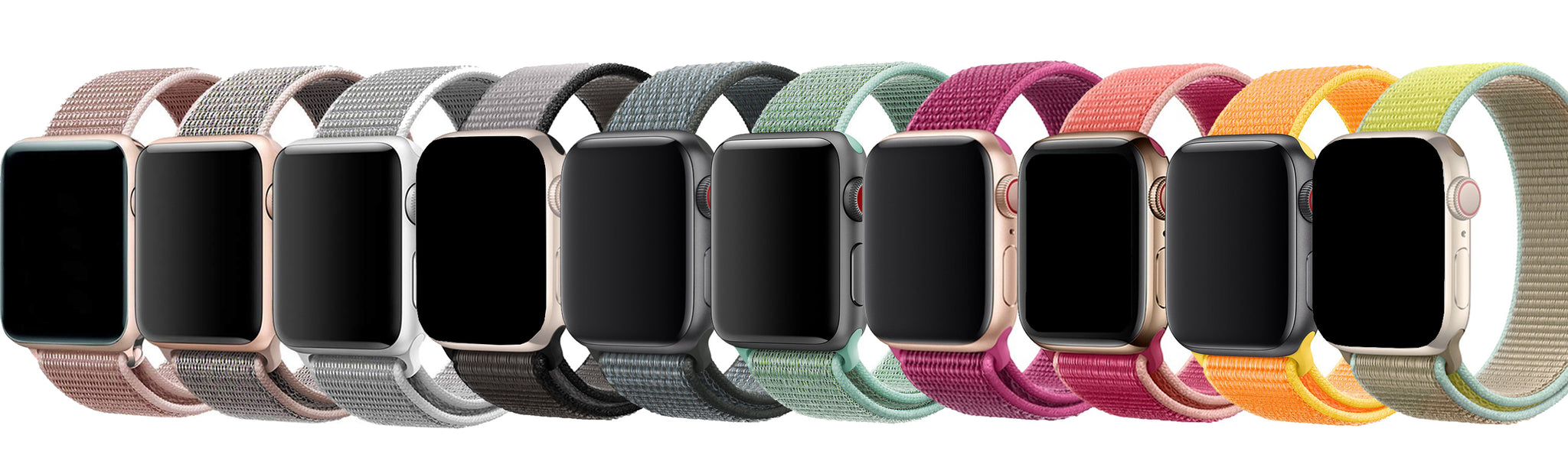 Apple Watch Nylon Loop Straps | Blend.Style