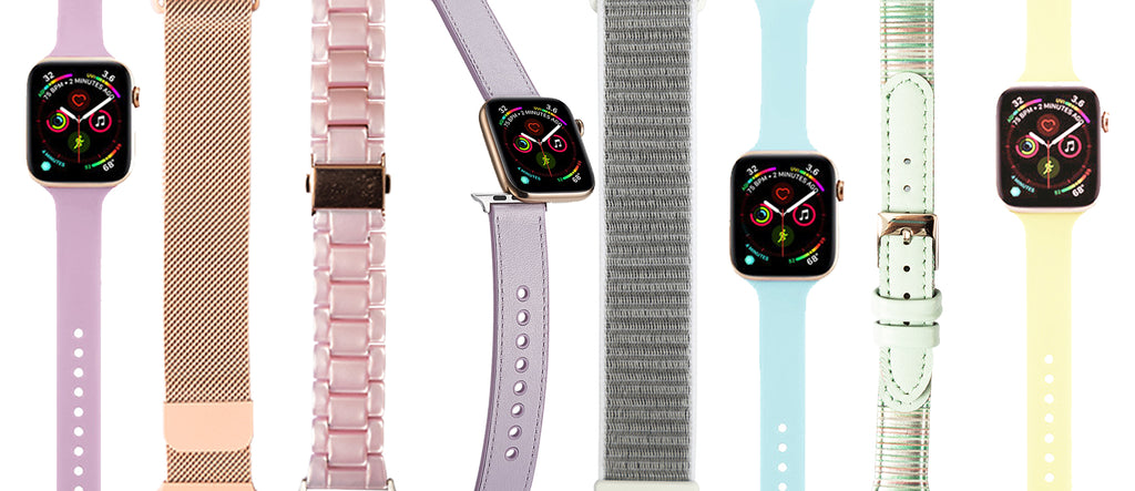 Pastel Apple Watch Strap Collection | Blend.Style