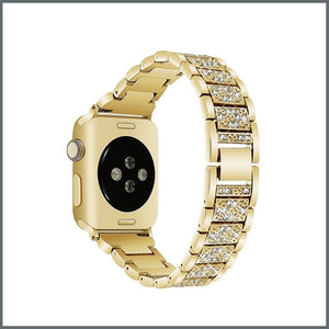 Apple Watch Strap - Glistening Bracelet - Yellow Gold