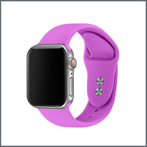 Apple Watch Strap - 2-Stud Silicone - Purple