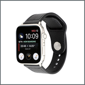 Apple Watch Strap - Active Leather - Black