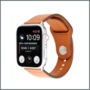 Apple Watch Active Leather - Tan
