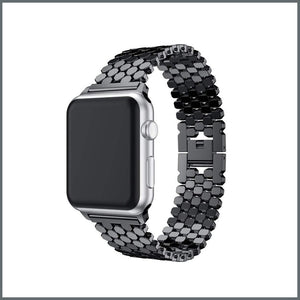 Apple Watch Strap - Beehive Link - Black