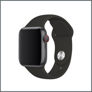 Apple Watch Classic Silicone - Black