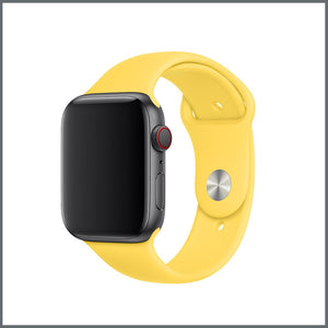 Apple Watch Strap - Classic Silicone - Candy Yellow