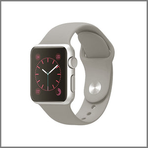 Apple Watch Strap - Classic Silicone - Grey
