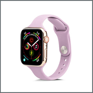 Apple Watch Strap - Dainty Silicone - Lilac