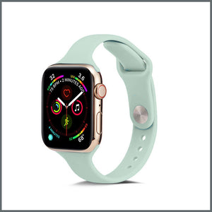 Apple Watch Strap - Dainty Silicone - Turquoise