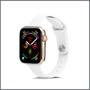 Apple Watch Strap - Dainty Silicone - White