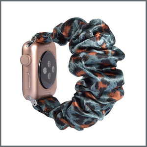 Apple Watch Strap - Scrunchie - Safari Green