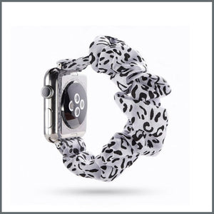 Apple Watch Strap - Scrunchie - Snow Leopard