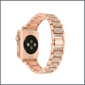 Apple Watch Strap - Glistening Bracelet - Rose Gold