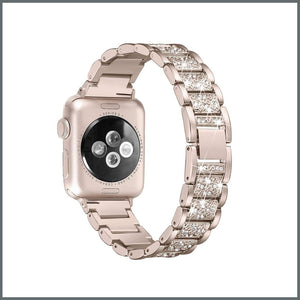 Apple Watch Strap - Glistening Bracelet - Gold