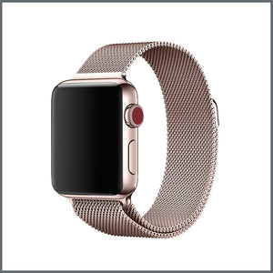 Apple Watch Strap - Mesh Loop - Champagne Gold