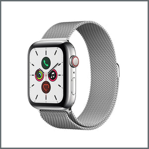 Apple Watch Strap - Mesh Loop - Silver