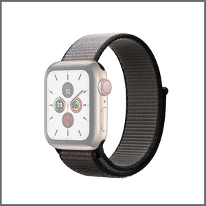 Apple Watch Strap - Sport Nylon Loop - Anchor Grey