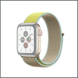 Apple Watch Strap - Sport Nylon Loop - Camel